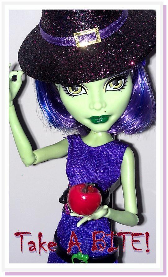Monster High Witch Cam Monster High Dolls Custom Monster High Dolls Monster High Doll