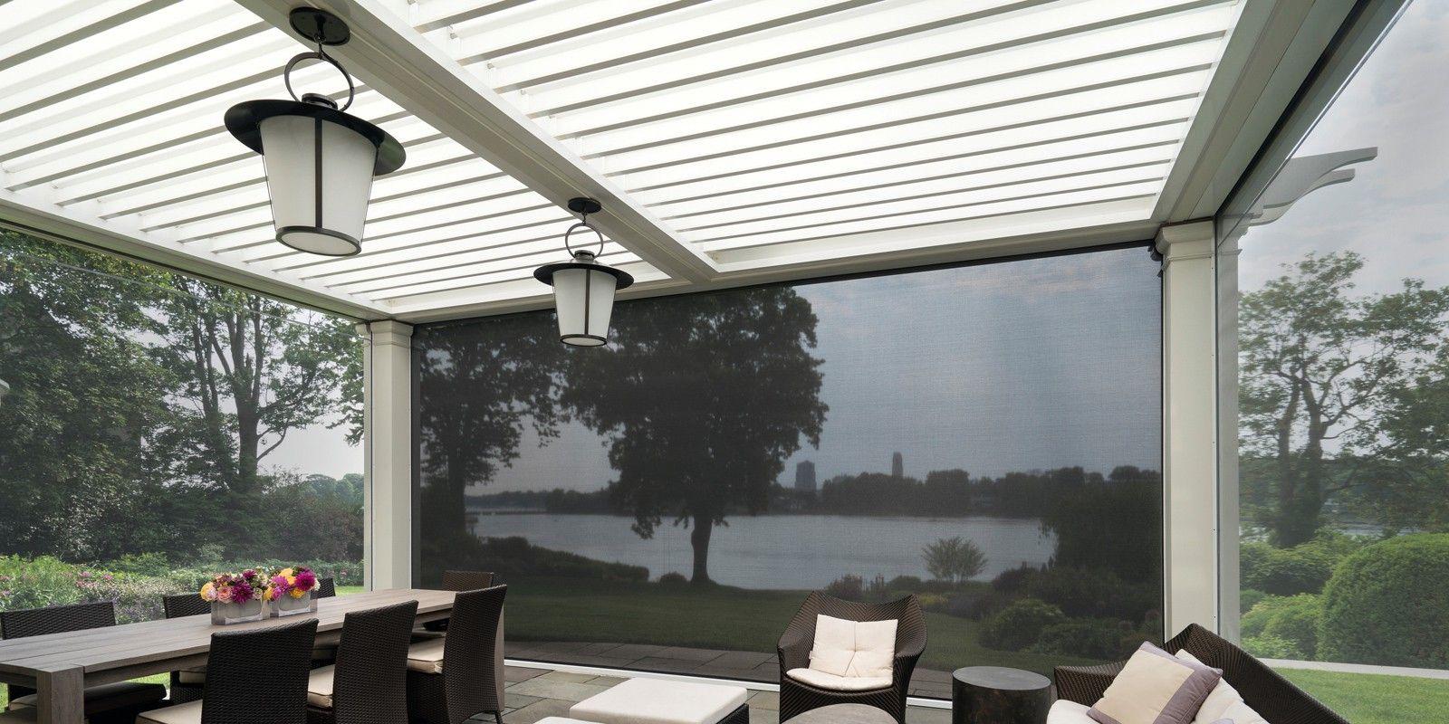 Terras overkapping met lamellen   via jumbo #tuin #terras #veranda ...