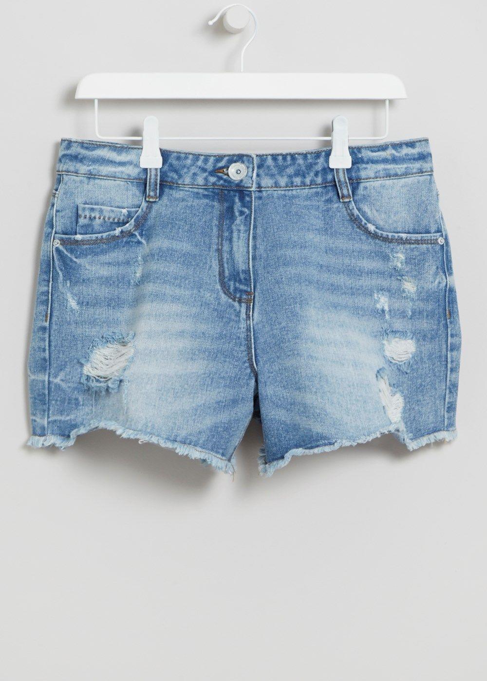 d7158b0a9f Falmer High Waisted Shorts - Matalan   Holiday shop   Short waist ...