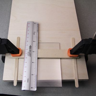 Bend Sheet Acrylic Or Plexiglass For Crafts Using Simple Tools Plexiglass Acrylic Sheets Miniature Furniture