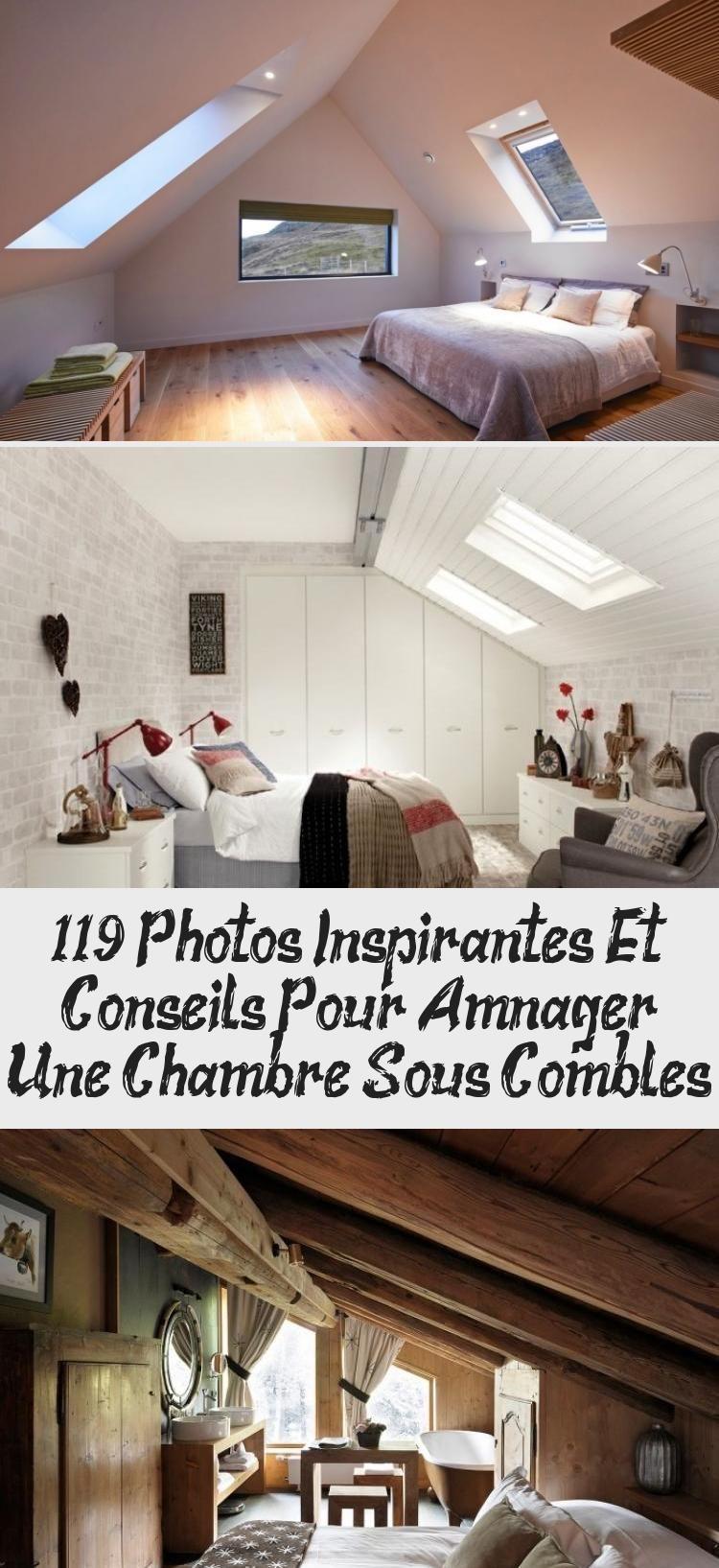 119 Photos Inspirantes Et Conseils Pour Amenager Une Chambre Sous