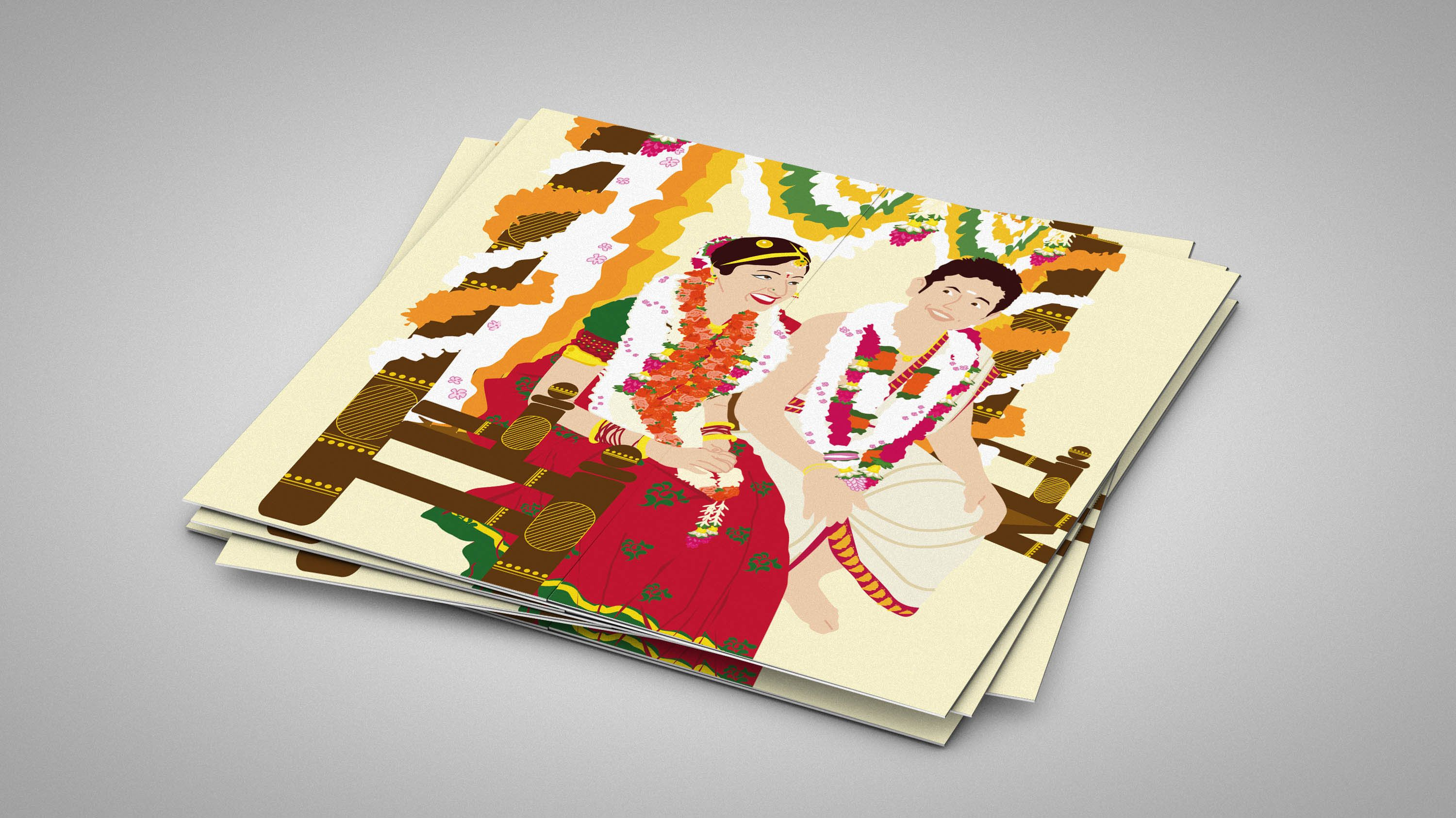 wedding card manufacturers in tamilnadu%0A illustrated wedding invitations  unique wedding invitations  cool wedding  invitations  indian wedding invitations