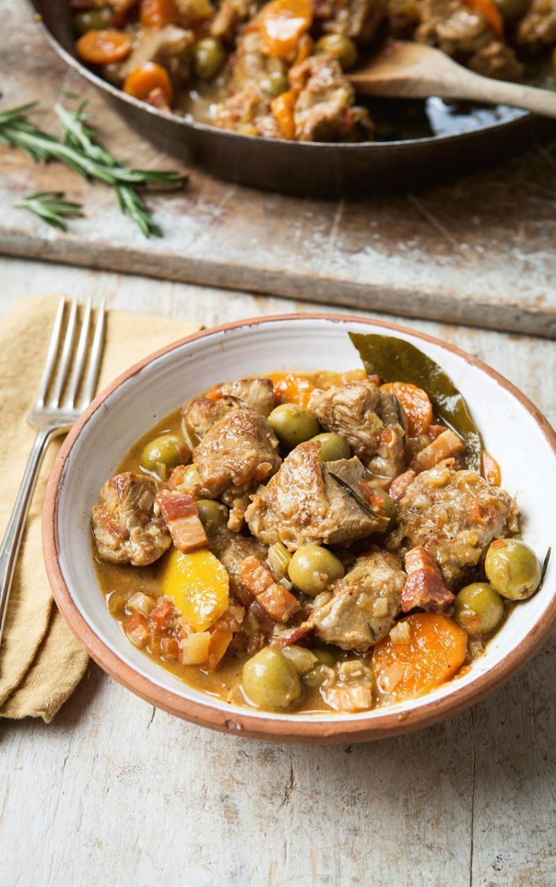 Veal Olive Stew Recipes Hairy Bikers In 2020 Lamb Stew Recipes Stew Recipes Veal Stew
