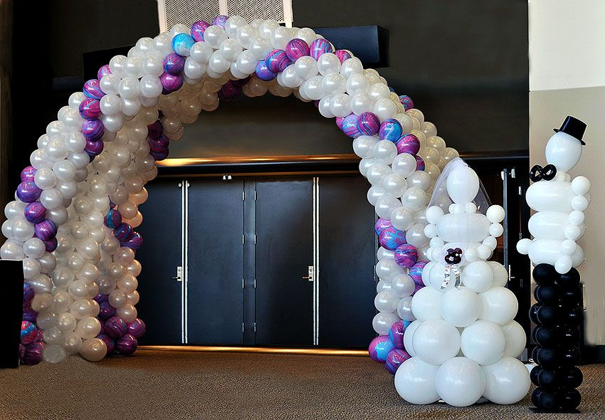 Balloon arches for weddings wedding balloon decorations wedding balloon arches for weddings wedding balloon decorations wedding dcor wow junglespirit Images