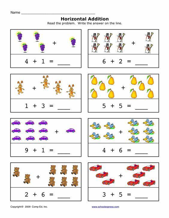 Schoolexpress Com 17000 Free Worksheets Kids Worksheets Preschool Kindergarten Math Worksheets Math Materials