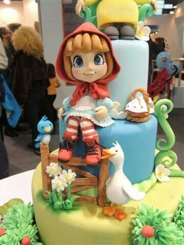 So cute Amazing Fondant Cakes Pinterest Cake Birthday cakes