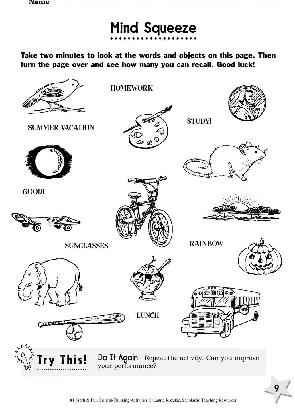 81 Fun Critical Thinking Activities With Images