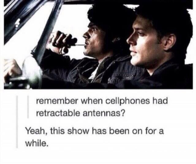 The show's old