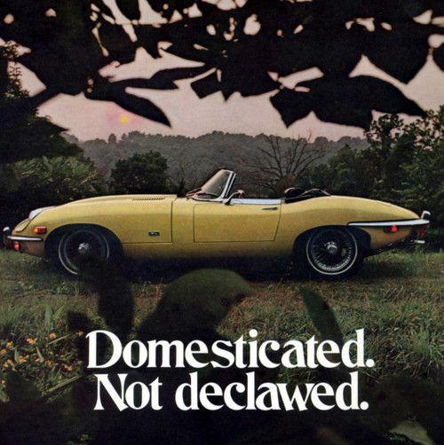 Jaguar E Type SII advertisement (1970)