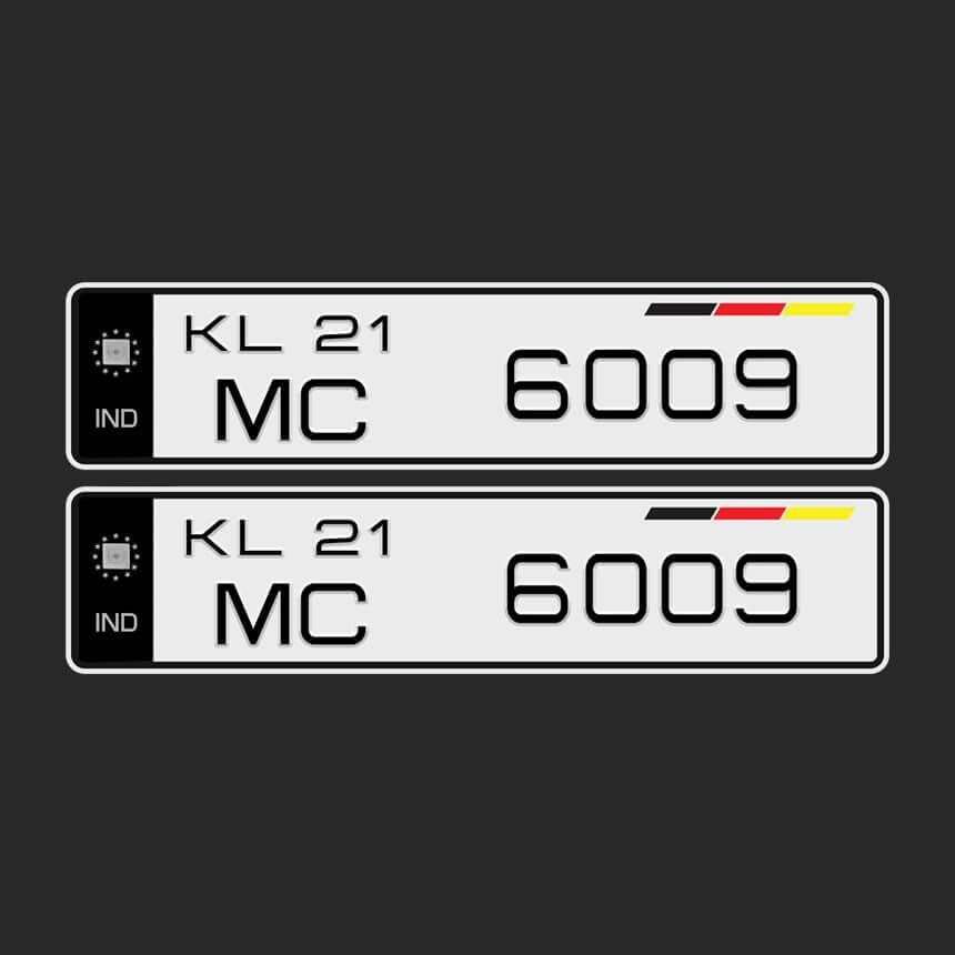 Car Number Plate Fonts Car Number Plates Number Plate Number