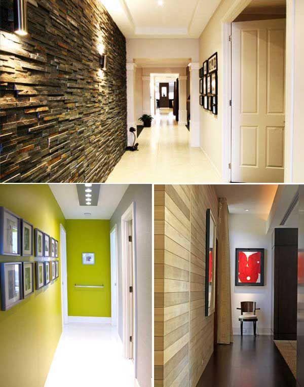 50 ideas para pintar y decorar un pasillo estrecho - Decoracion pasillos largos ...