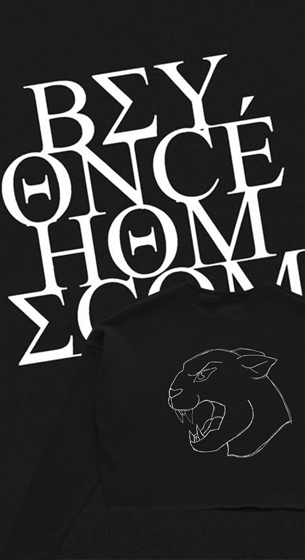 Homecoming Panther Cropped Sweatshirt in 2019 | HOMECOMING