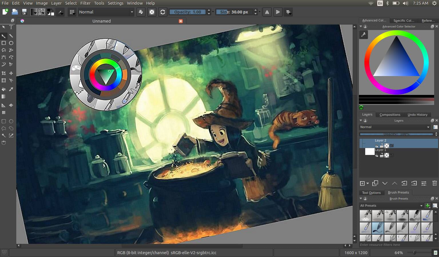 Digital Painting And Illustration Application Similar To Photoshop
