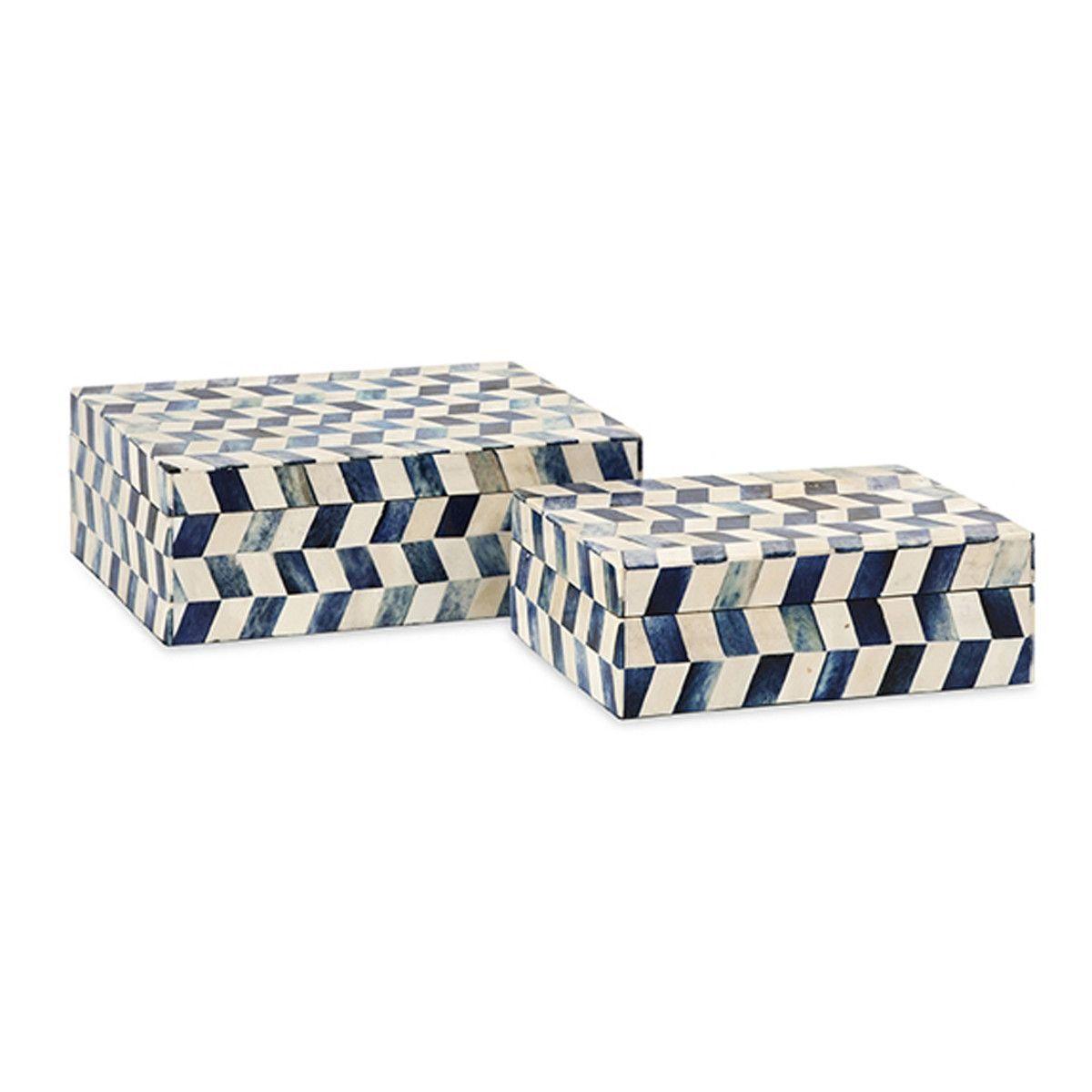 Essentials Bone Boxes, Set of 2