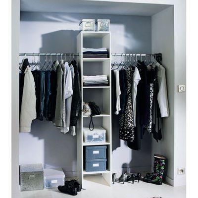 dressing pas cher sur mesure pour petite chambre - Comment Faire Un Dressing Dans Une Petite Chambre