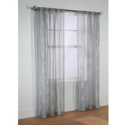 Commonwealth Home Fashions Elizabeth 95 Rod Pocket Window Curtain