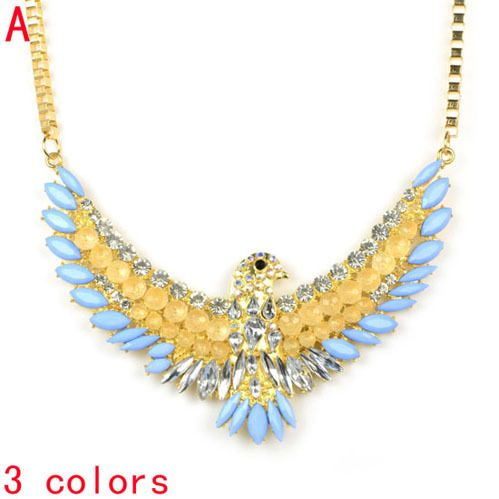 Aliexpress.com : Buy Sparkle Eagle pendant necklace with bling bling stones,NL 2084  from Reliable Sparkle Eagle pendant necklace suppliers on Well Done Fashion Jewelry Co.,Ltd. $15.59