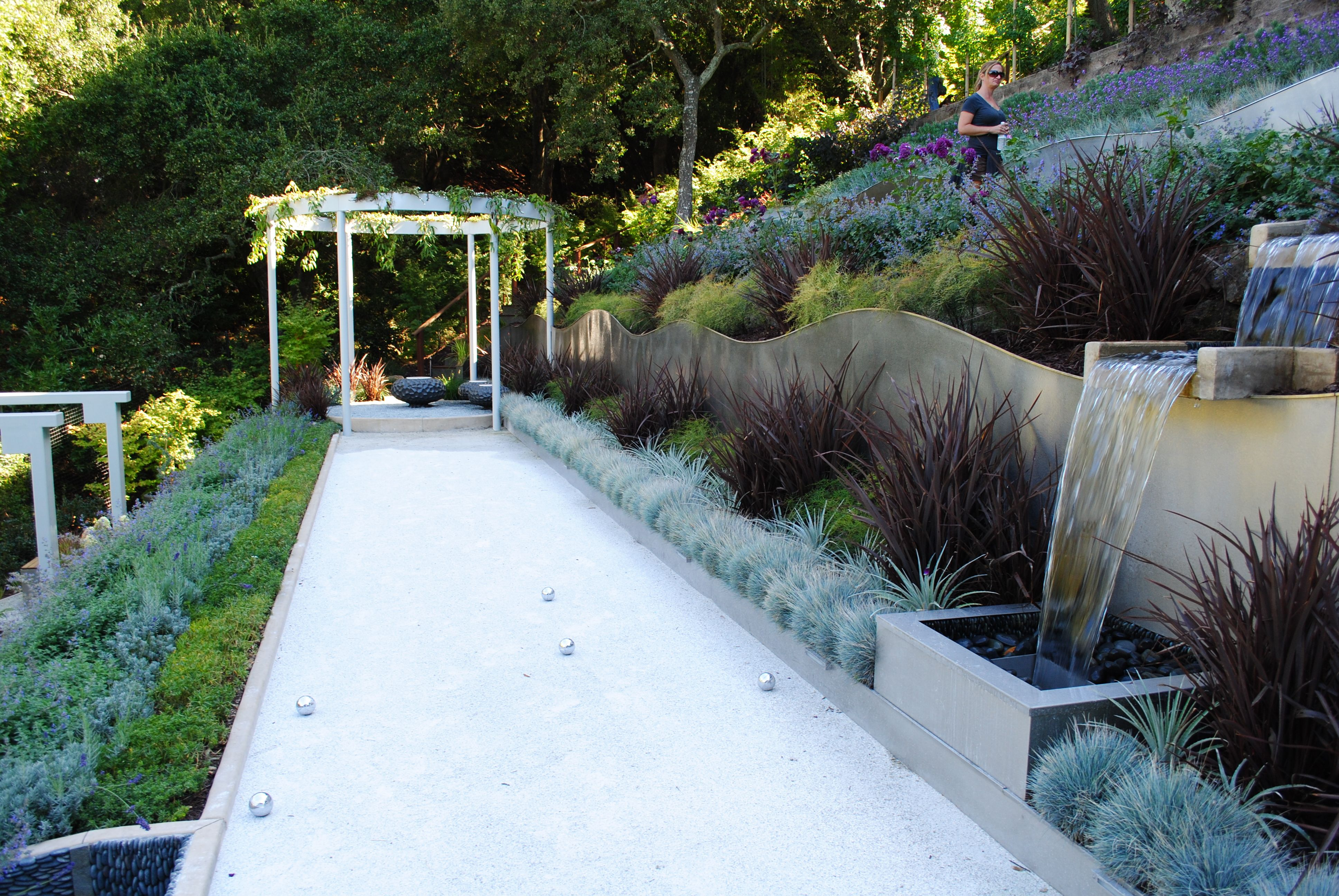 Bocce ball court with Pergola seating area!! It! in ... on roof garden design, florida garden design, interior garden design, tree garden design, landscape design, home and garden design, garden design product, beautiful garden design, city garden design, garden sheds, small front yard design, food garden design, japanese garden design, garden stage design, small garden design, kitchen design, vertical garden design, herb garden design, greenhouse design, garden bedroom design,
