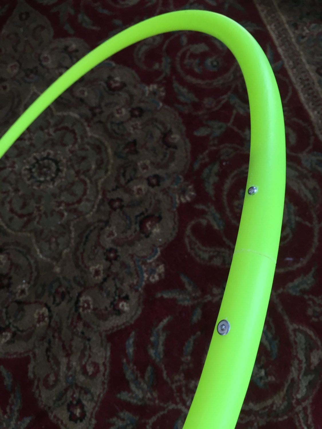 "UV Lime 27"" 3/4 OD ready to ship! by HoopinHabit on Etsy"