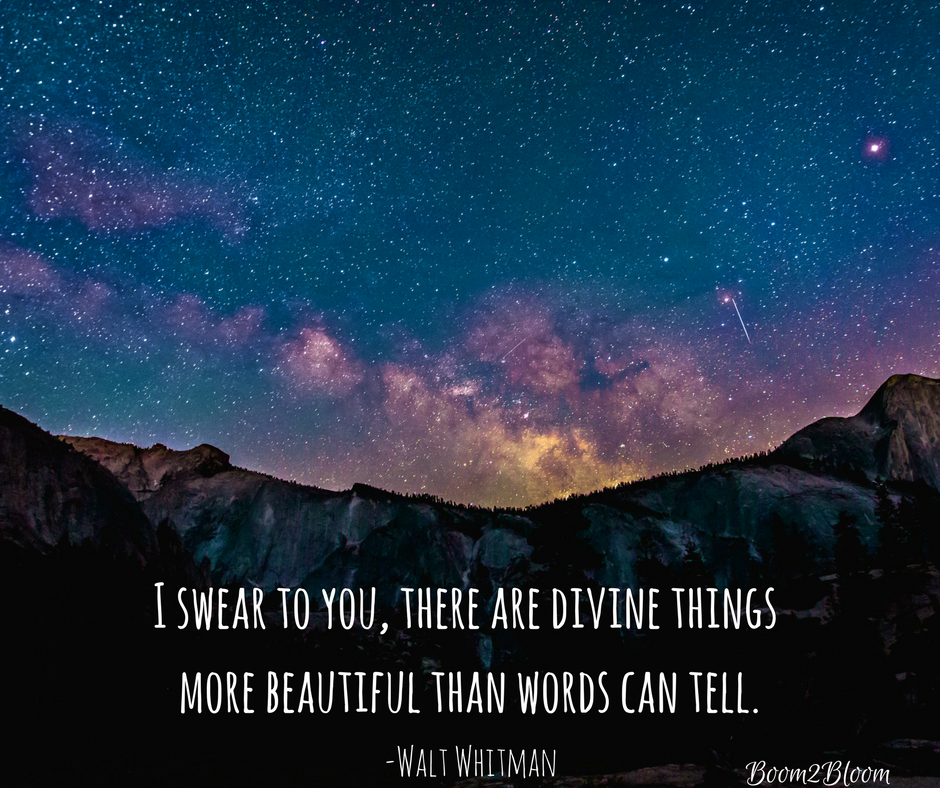 I Swear To You There Are Divine Things More Beautiful Than Words