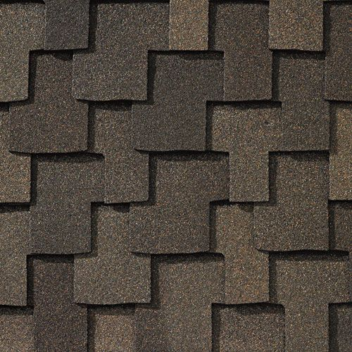 Weathered Wood Gaf Designer Roof Shingles Swatch Roofing