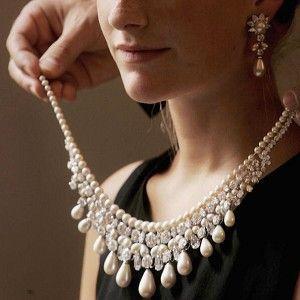 b0b14e033753c Harry Winston Centennial pearl necklace worth $ 20 million; but, you ...