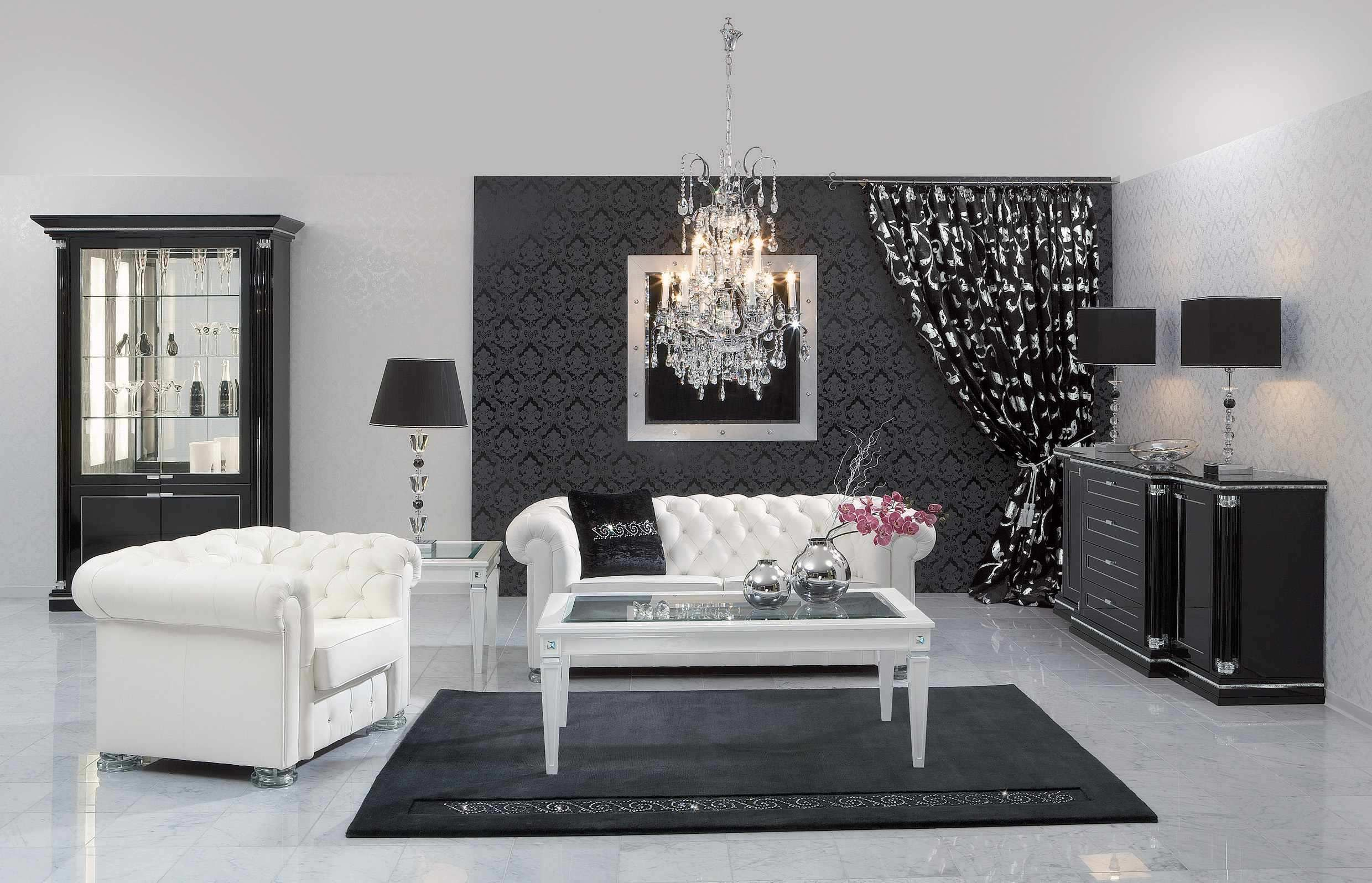 5 outdated home decor trends that are coming again in 2018 black living roomsluxury living roomswhite - Black White And Silver Bedroom Ideas