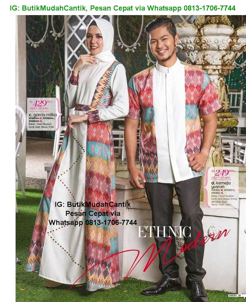 Gamis Keluarga Muslim, Sarimbit Lebaran untuk seluruh Anggota keluarga bahagia Anda koleksi