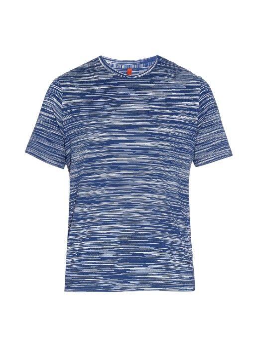 Missoni Multi-stripe print jersey T-shirt