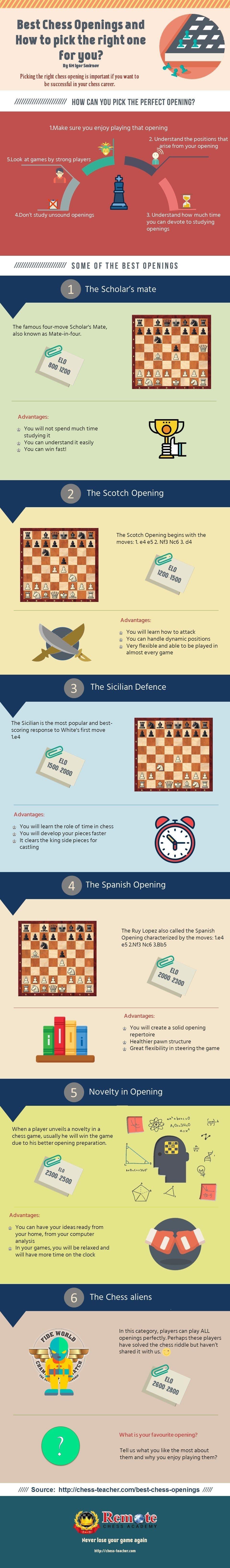 Best Chess Openings Infographic Jpg 960 6554 Mit Bildern Schach Schachbretter Schachfiguren