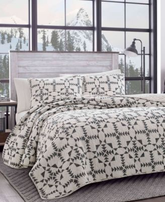 Eddie Bauer Arrowhead Charcoal Quilt Set Full Queen Bedding In 2019 Bedroom Linens Quilt Sets King Quilt Sets Quilted Bedspreads
