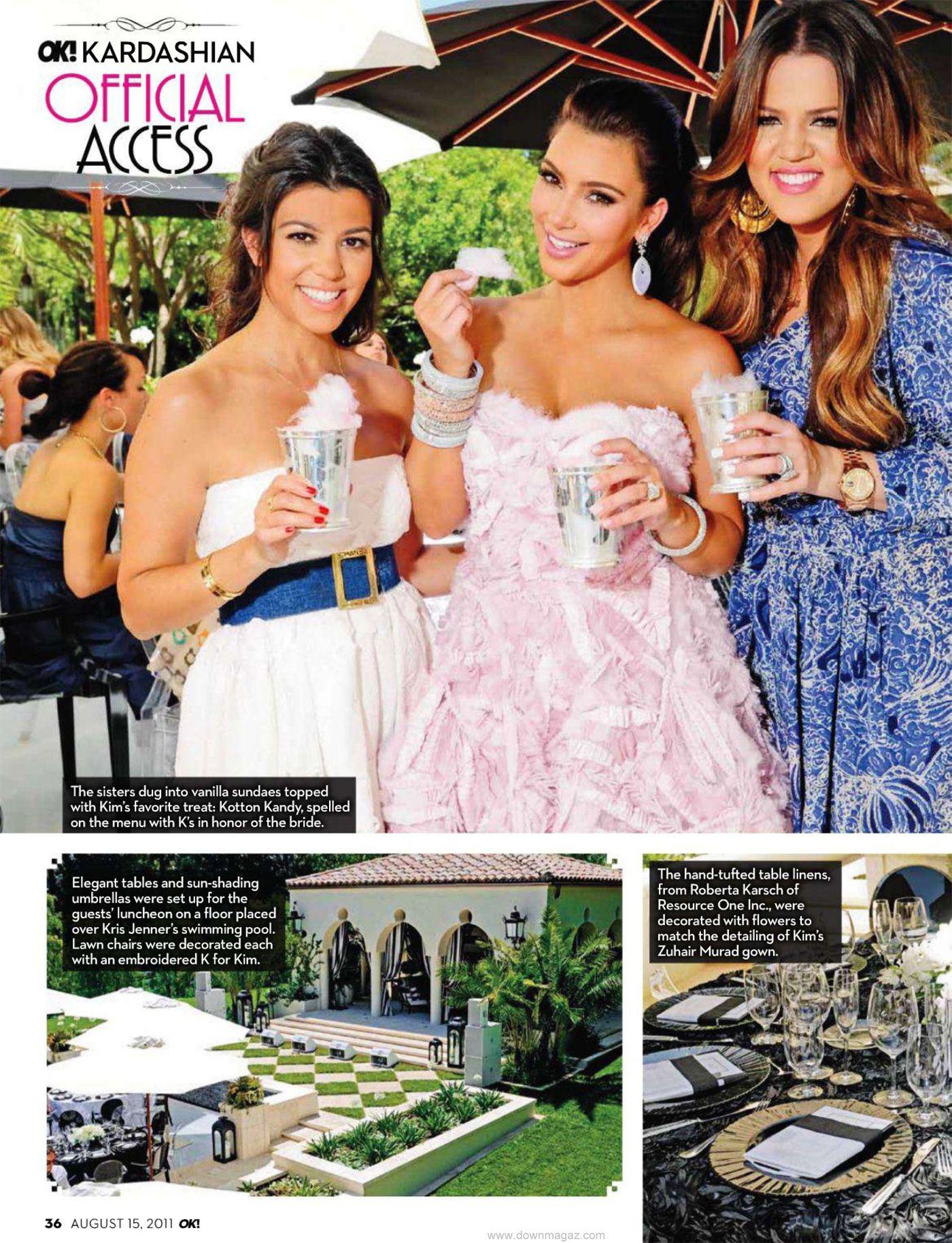 bridal shower ideas cotton candy kim kardashian