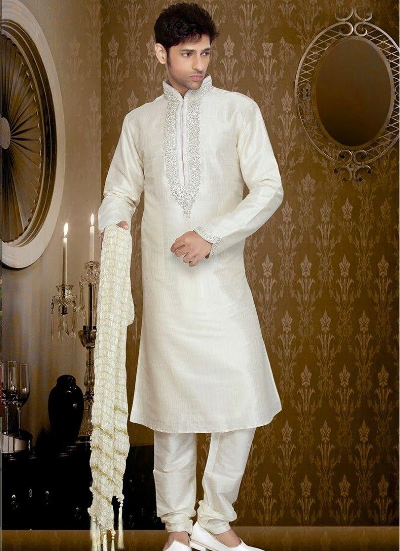 Charming Off White Stripe Art Silk Kurta Pyjama  http://www.fillyz.com/mens/buy-kurta-pajama/charming-off-white-stripe-art-silk-kurta-pyjama-11452.html
