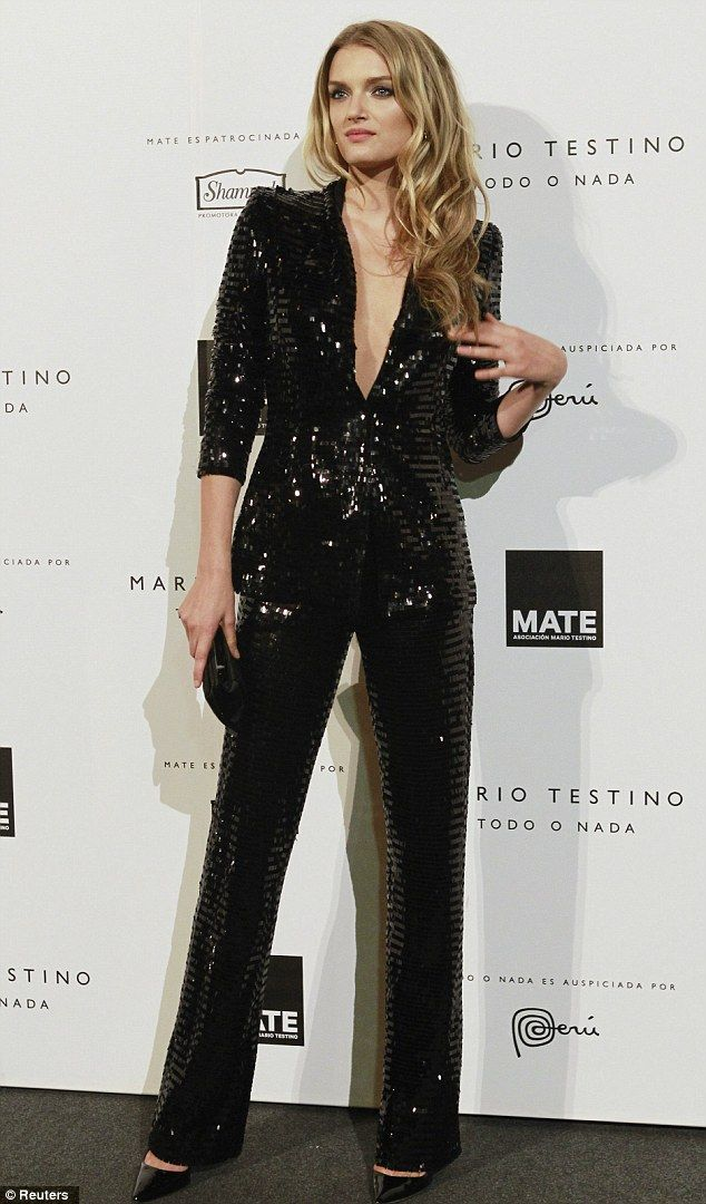 Guests at Mario Testino's charity party take inspiration from Pretty Woman in barely there dresses | Mail Online