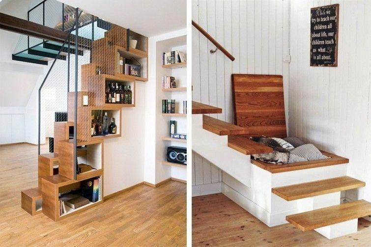 12 ideas para ahorrar espacio en tu hogar espacios for Espacio escalera