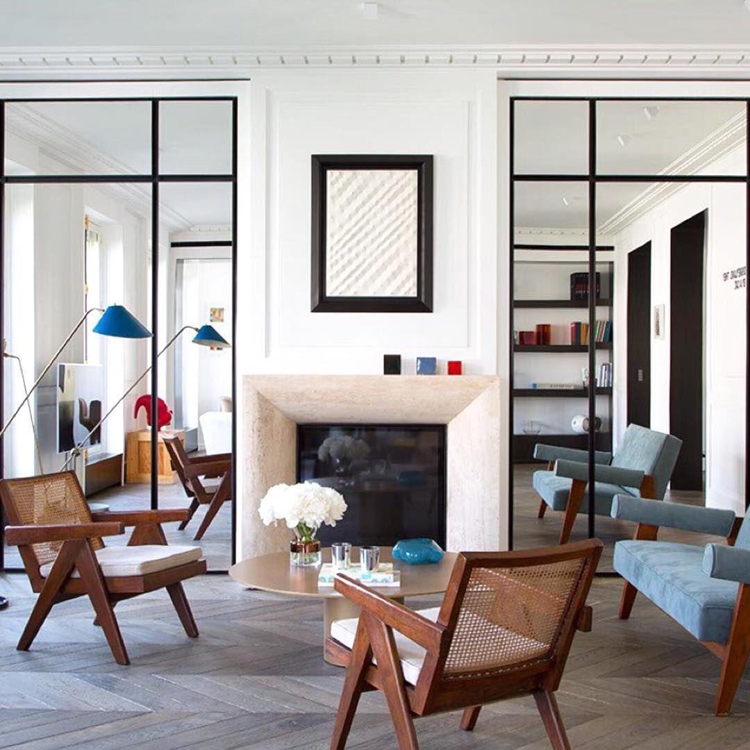O Design Modernista Predomina Neste Apartamento Parisiense Fair No Furniture Living Room Decorating Design