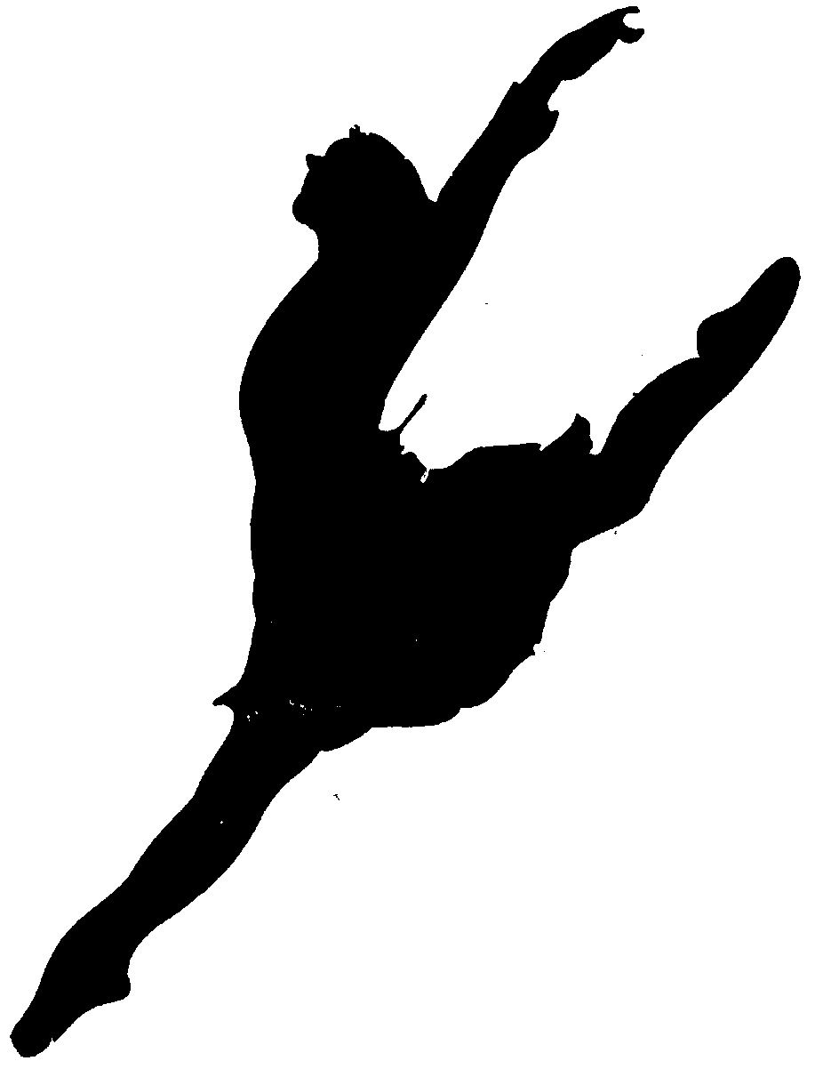 dancer clipart silhouette leap clipart panda free clipart images [ 944 x 1220 Pixel ]
