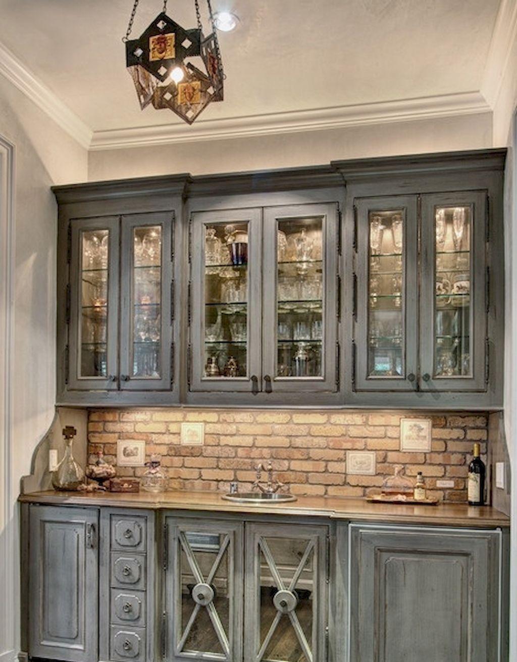 90 Best Farmhouse Kitchen Cabinet Design Ideas | Farmhouse ...