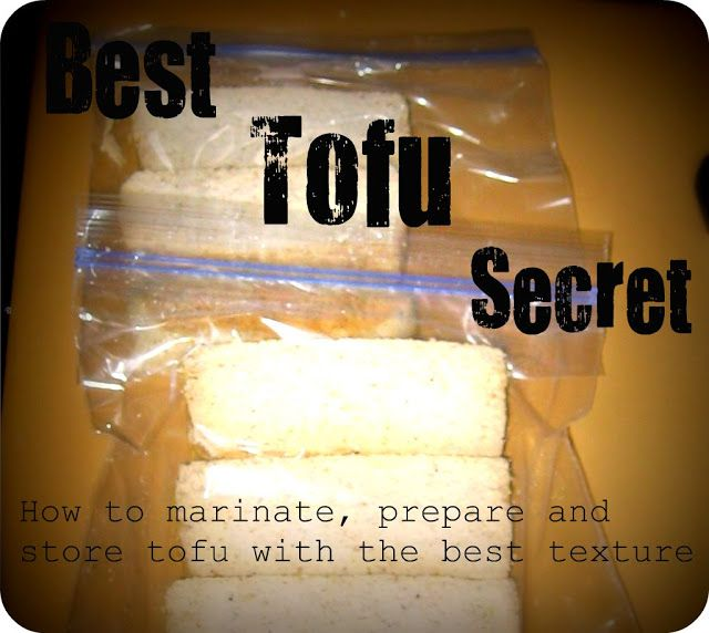 It S On Random The Best Way To Prepare And Store Tofu For Future Use Nutritious Meals Tofu Cooking Tips