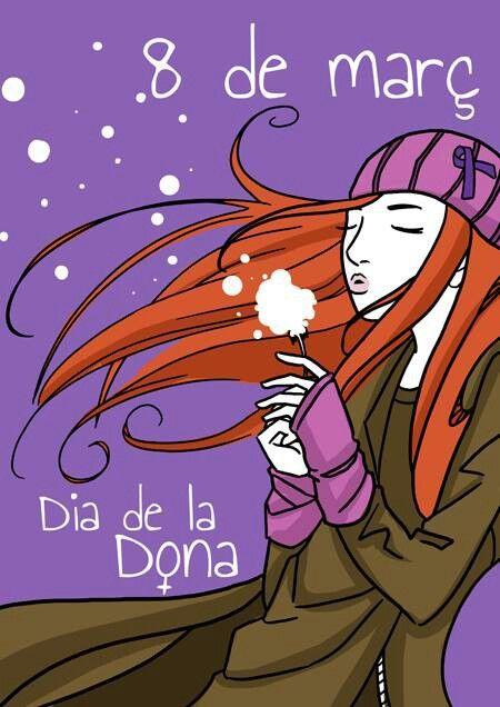 8 De Març Dia De La Dona Treballadora Dia De La Dona Dia De La Mujer Día Nublado