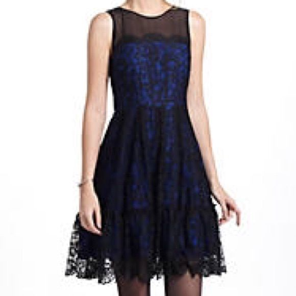 Moulinette soeurs black lace dress