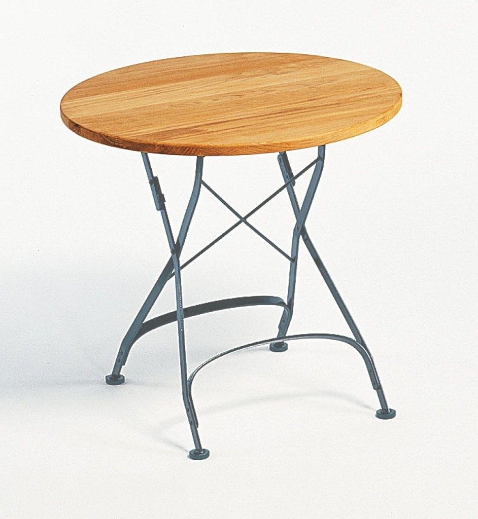 Weishaupl Classic Tisch Rund M Graphitgrau Esstisch Tisch