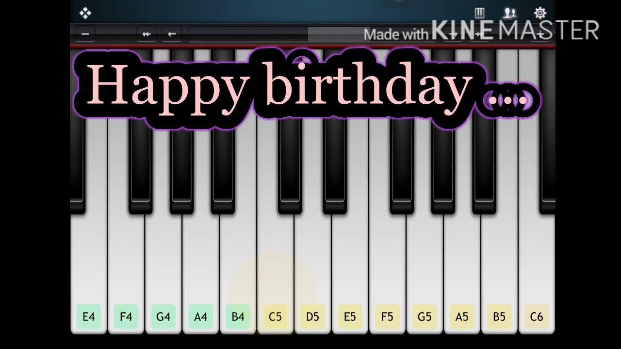 Happy Birthday Easy Piano Music Tutorial Youtube In 2020 Happy Birthday Piano Music Tutorials Easy Piano