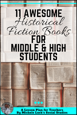 Are you looking for great fiction books to use in the middle or high school Social Studies classroom This historical fiction list will be a great addition for your lesson...
