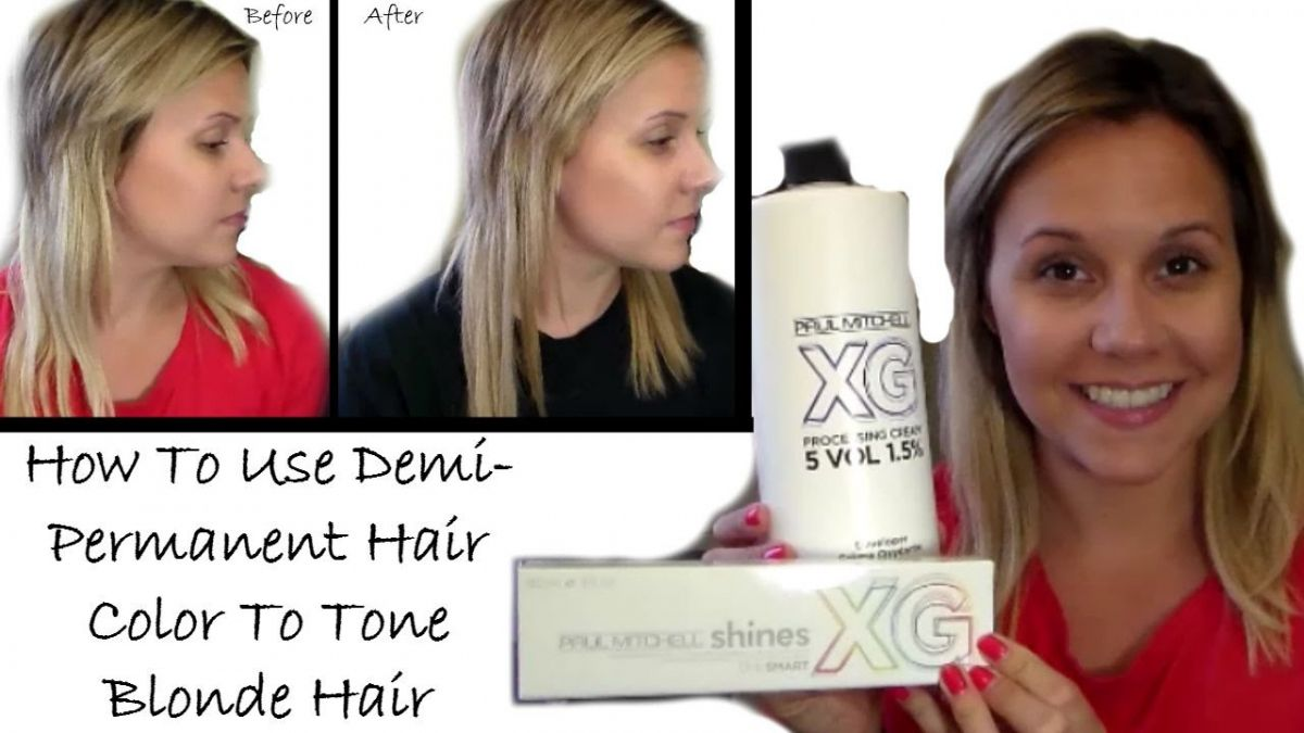 Semi Permanent Hair Color Blonde Best Hair Color With Highlights