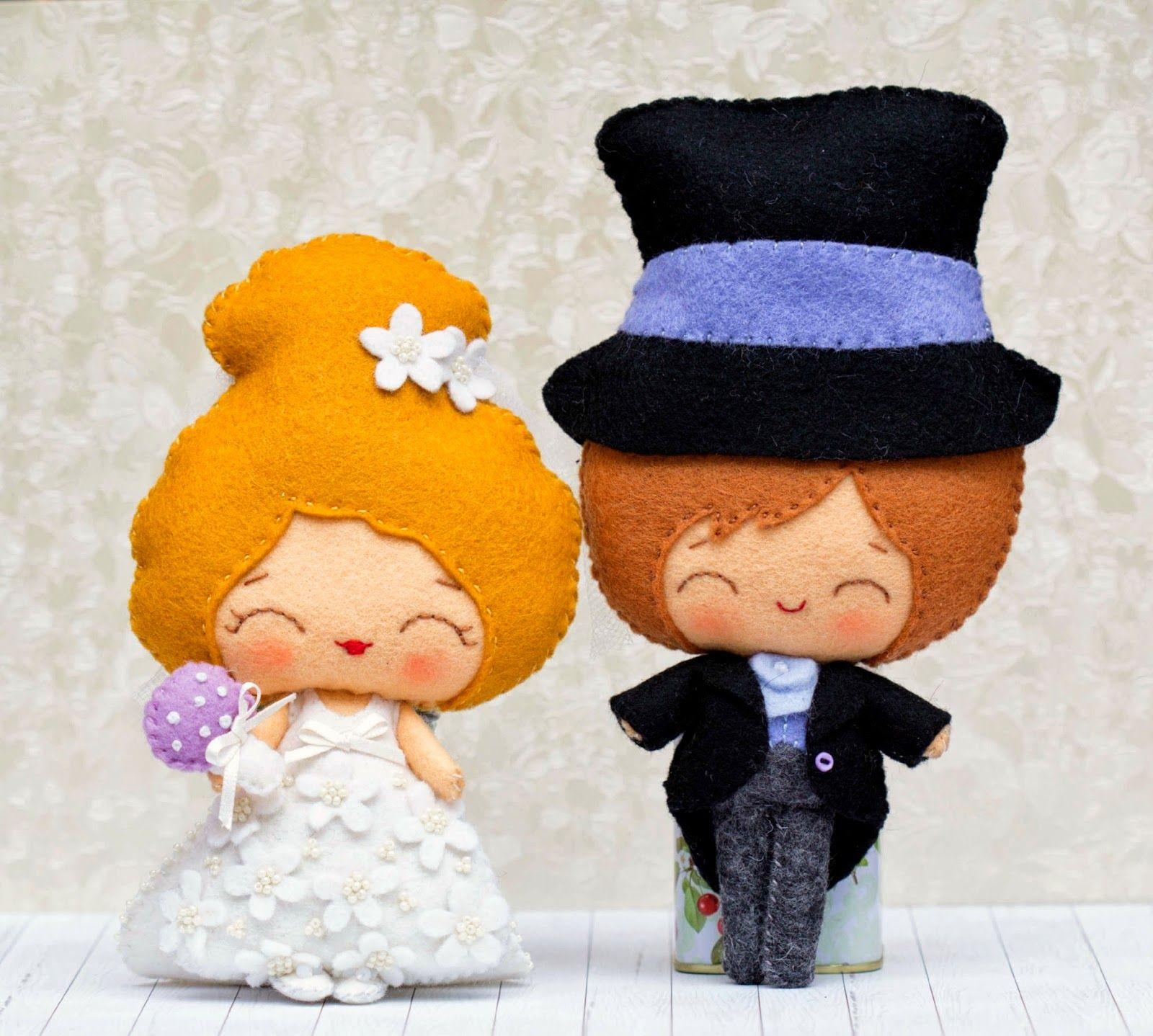 El novio y la novia
