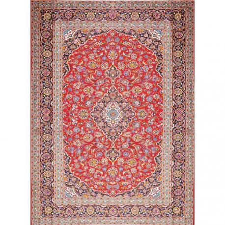 Kashan - Irán Alfombras  Referencia: BM-9338 Alto: 363 Ancho: 268