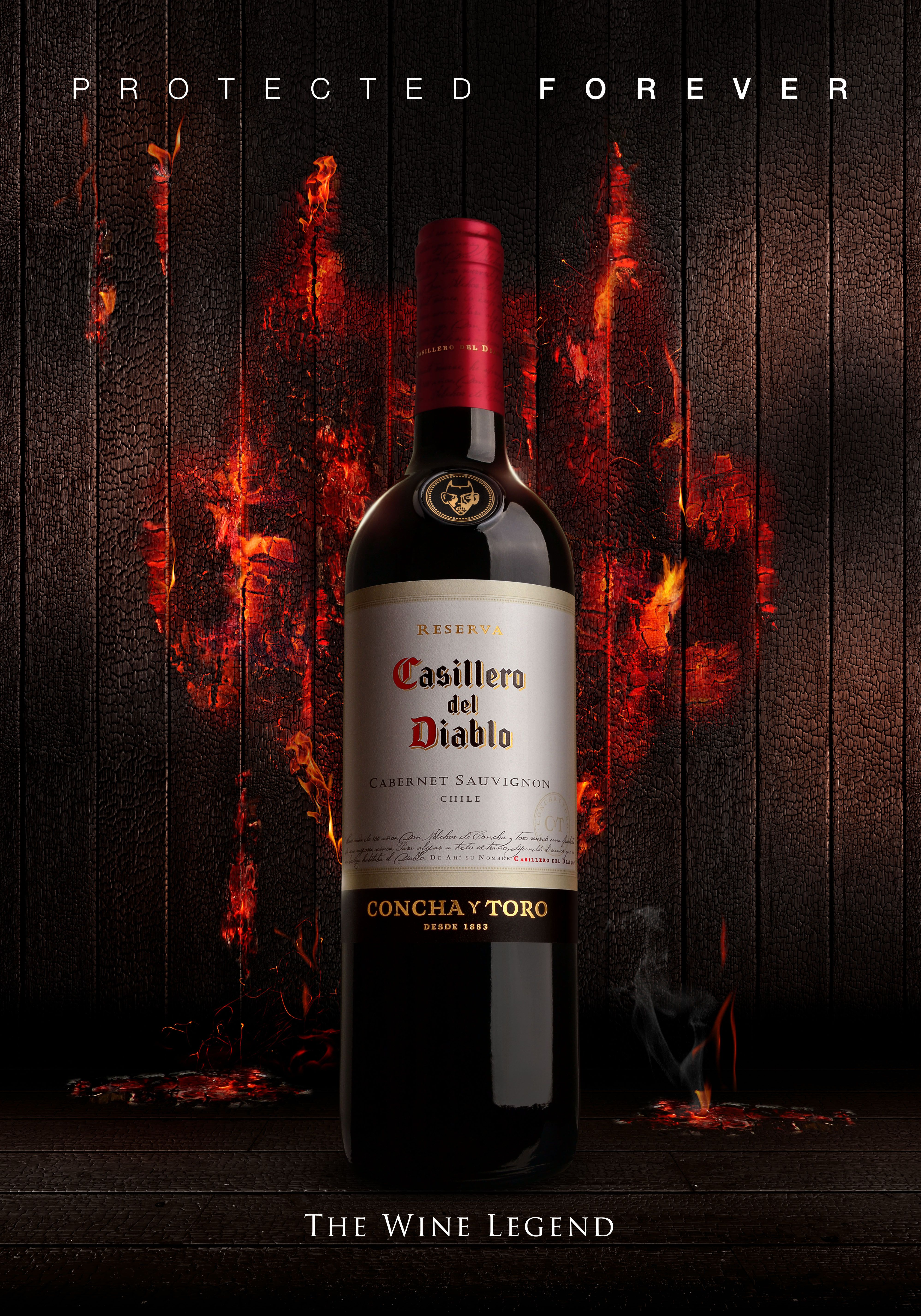 Campana Global Casillero Del Diablo 2018 Wine Wine Bottle Winemaking