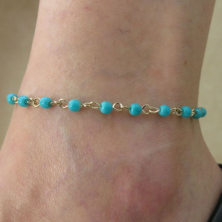 sale ankle anklet feet ksvhs beach toe ring on pretty for bracelets jewellery thumb unique string beads