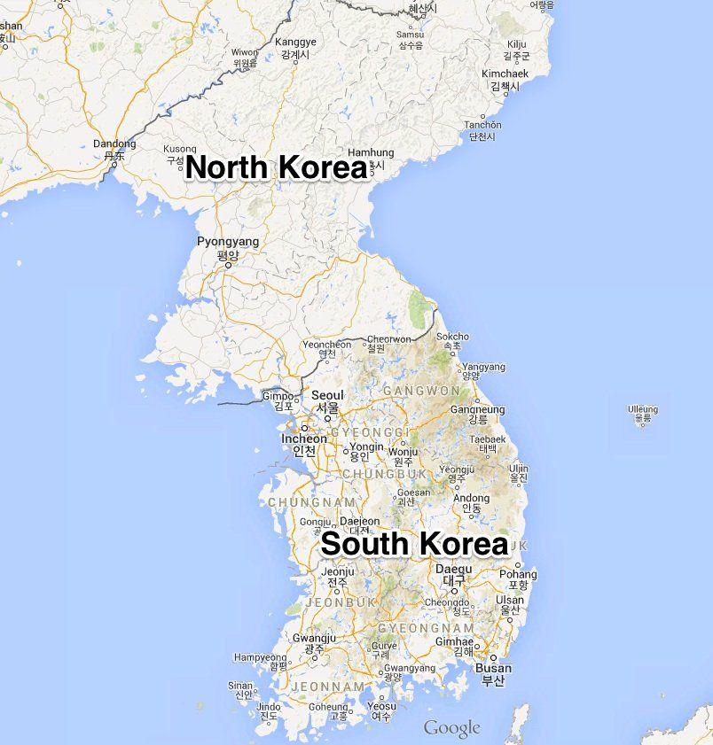 Korea map pinterest korea and north korea korea map gumiabroncs Gallery